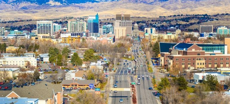 Boise - a city to live in after relocating to Idaho.