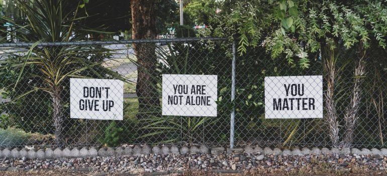 Empowering signs