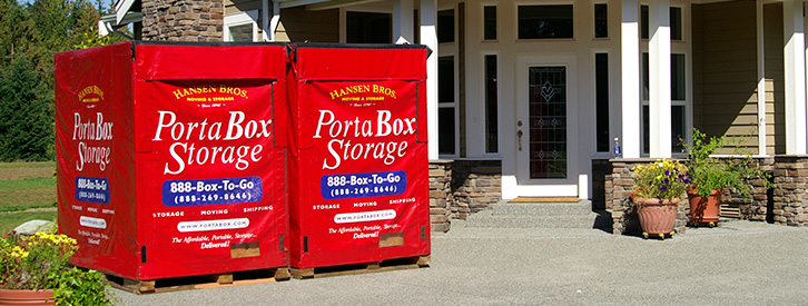 PortaBox Storage - Property of Hansen Bros.